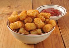 Tater tots Stock Photos