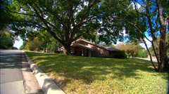 Texas Ranch House Zoom In Stock Footage
