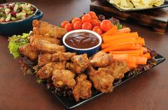 Stock Photo of party snack platter