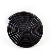 rolled liquorice - stock photo