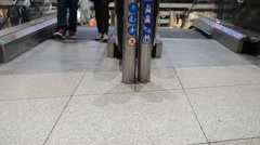 Escalator,people/ DSC 0077 Stock Footage