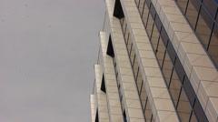 Modern corporative building Stock Footage