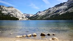 Yosemite National Park with Mountain and Lake Full HD Stock Footage