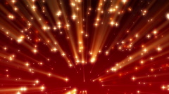 4K Red Moving Shine Stars on Ramp Background Loop 2 Stock Footage