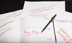 pay day loan - stock photo
