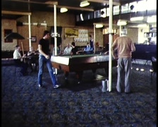 Archival Footage in an Typical Aussie Pub (ver 2) Stock Footage