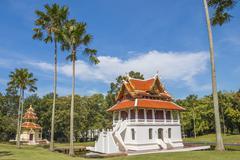 """Stock Photo of """"wat yansangwararam"""" ; pattaya , thailand"""