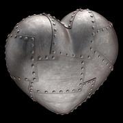 Strong Heart - stock illustration