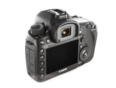 eos canon 5d mark iii , digital camera for high level photographer - stock photo