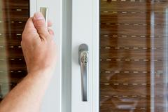 Handles for windows,PVC Stock Photos