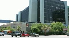 4K, UHD, Cedars-Sinai Medical Center, Los Angeles California , BlackMagic Camera Stock Footage