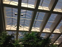 Contemporary interior architecture - stock photo