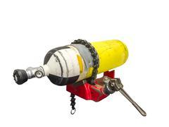 Air compressor tank repair Stock Photos
