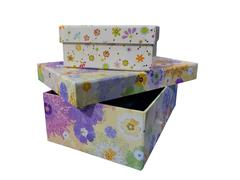 color boxes - stock photo