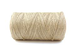 Roll of twine cord on white background Stock Photos