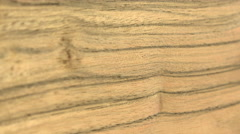 (Perfect Loop) Wood Sheet of Paldao Stock Footage