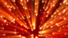4K Red Moving Strong Shine Stars on Ramp Background Loop 2 Stock Footage
