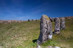 Mystic place in dartmoor - hdr image Stock Photos