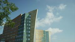 Modern Architecture Amstelveen 1 Stock Footage