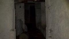scary dark corridors 3 - stock footage
