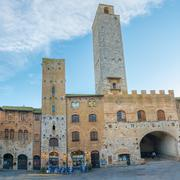 san gimignano - italy - stock photo