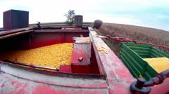 Corn Harvester Stock Footage
