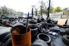Maidan Nezalezhnosti - stock photo