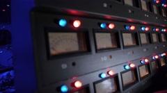 Tape machine running Stock Footage