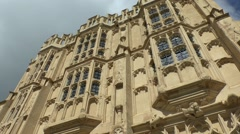 Church of St John the Baptist, Market Place, Cirencester, Gloucestershire, UK.. Stock Footage