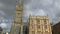 Church of St John the Baptist, Broad Street, Cirencester, Gloucestershire, UK. Stock Footage