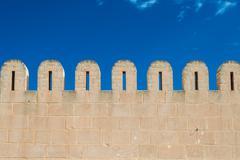 medina wall - stock photo