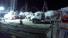 jade signature construction site - stock footage