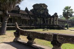 ankor wat - stock photo