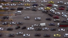 Panama City Cars And Vehicles In Queue At Highway Tollbooth 4K - stock footage