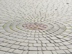 Tiled platform. Related clips are in my portfolio in 1920x1080. Stock Footage
