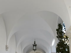 Church arches. Related clips are in my portfolio in 1920x1080. Stock Footage