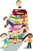 Children education Stock Illustration