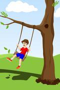 Happy kid Stock Illustration