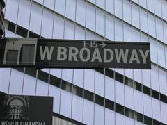"""Broadway"" in New York  (USA) Stock Photos"