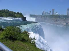 Niagara Falls (USA side) - stock photo