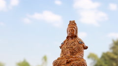 Guanyin statue Stock Footage