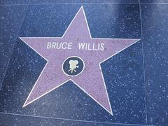 Bruce Willes Star On The Hollywood Walk Of Fame - stock photo