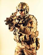 Special warfare operator Stock Photos