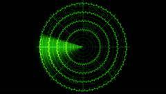Radar Screen Animation - stock footage