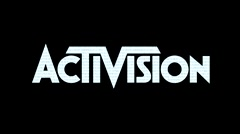 Activision Logo - Arcade game screen - Motion Graphic Loop Stock Footage