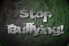 Stop bullying concept Stock Illustration