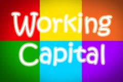 working capital concept - stock illustration