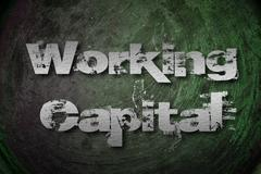 Working capital concept Stock Illustration
