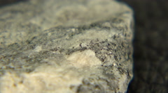 Gneiss Rock Extract - stock footage