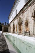 convento rotondo portugal - stock photo